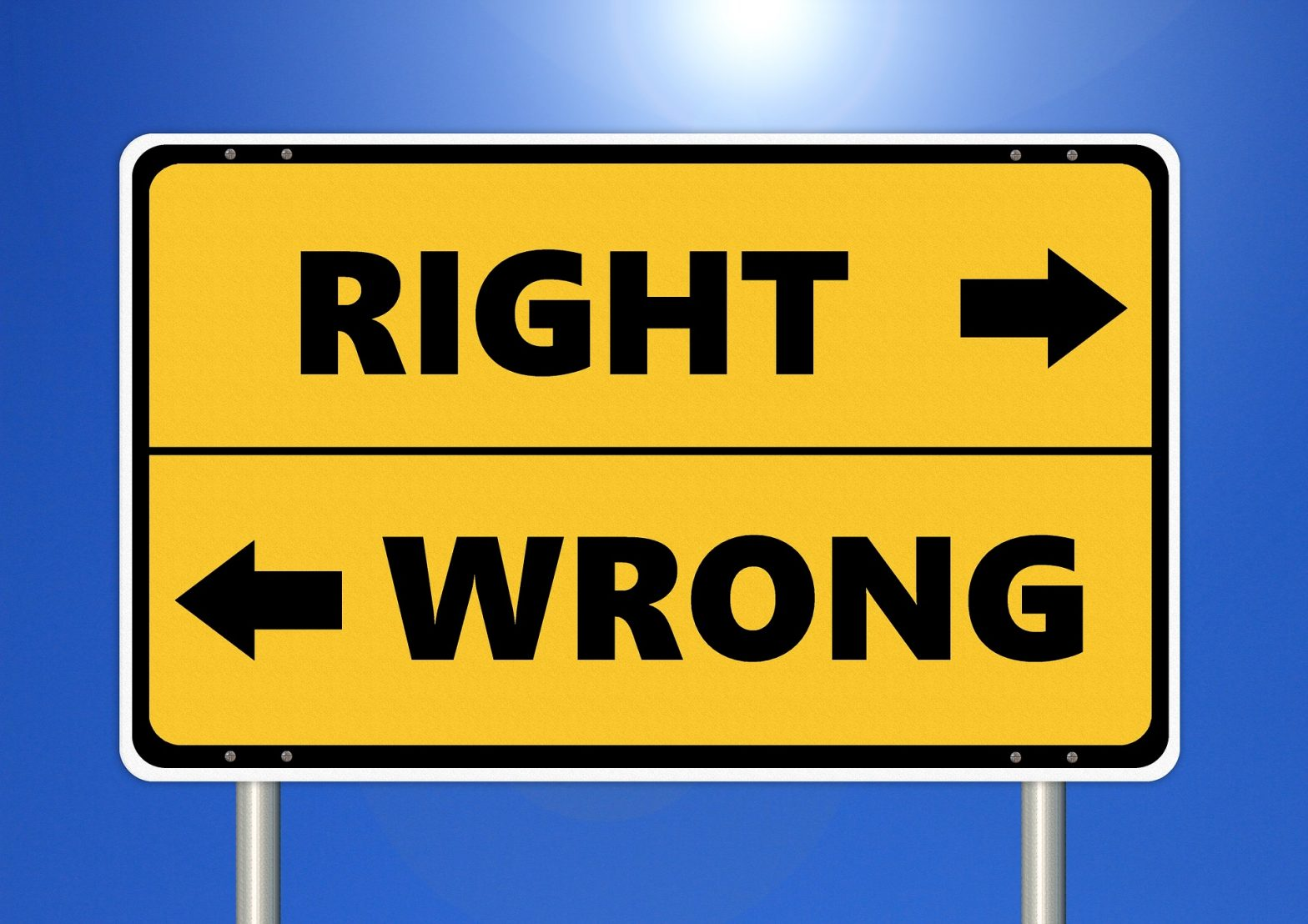 Ethics: Right / Wrong