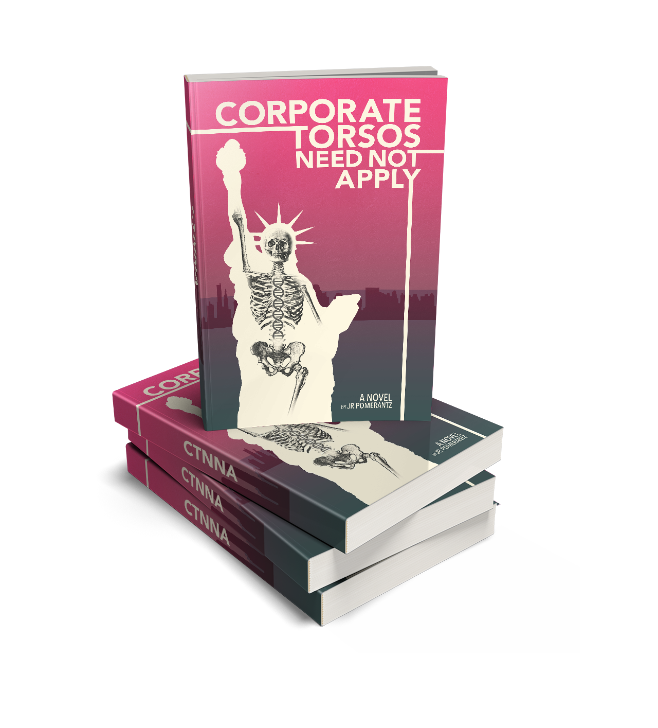 Corporate Torsos book stack